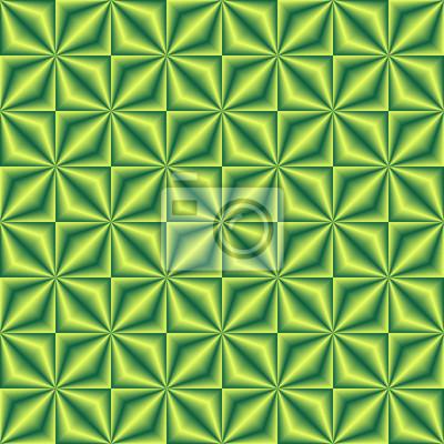Gelbgrün gemischtes geometrisches nahtloses Muster.