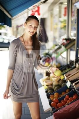Gemüse auf dem Markt In einkaufen