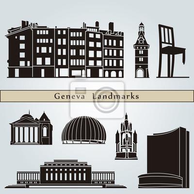 Bild Genf Sehenswürdigkeiten und Denkmälern