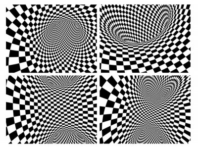 Geometric background with checkered texture of black and white colors