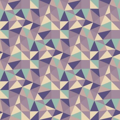 Bild Geometrische Dreiecke Hintergrund. Mosaic.