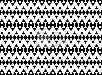 Geometrische Dreiecke Nahtlose Muster
