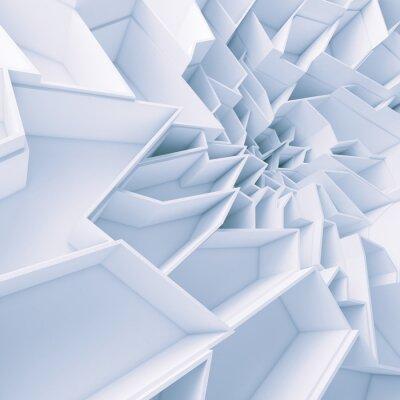 Bild Geometrische Farbe abstrakte Polygone Tapete