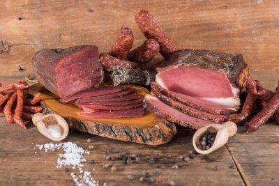 Bild Geräuchertes Fleisch und Wurst