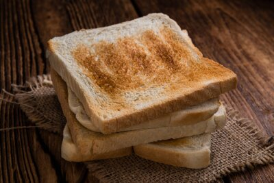 Bild Geröstetes Toastbrot