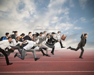 Bild Geschäftskonkurrenz
