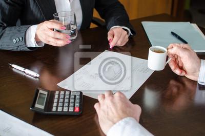 Bild Geschäftsleute bei der Arbeit