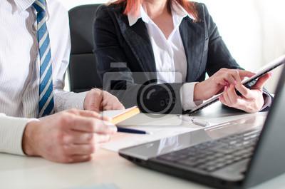 Bild Geschäftsleute Treffen
