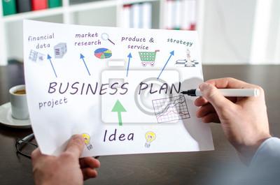 Bild Geschäftsplan