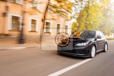 Bild Geschwindigkeit Auto fahren