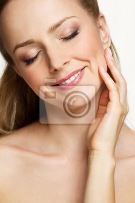 Gesicht der schönen Frau