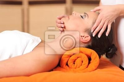 gesichts massage