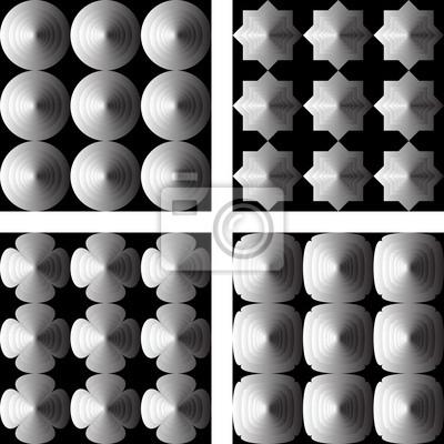 Gestalten Sie nahtlose geometrische Muster