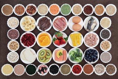 Bild Gesundheit und Körper-Aufbau Diätnahrung
