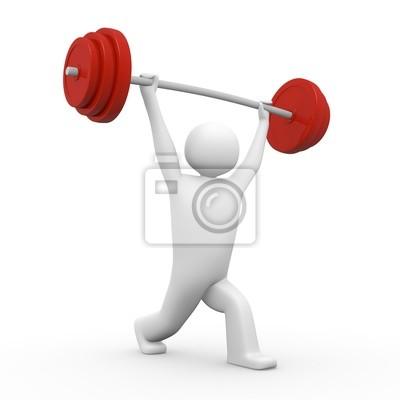 Gewichtheber leinwandbilder • bilder Gewichtheber, kundengerecht ...