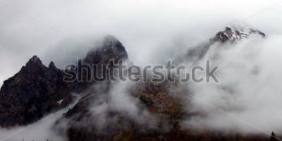 Bild Gezackte Spitzen der Teton-Strecke in West-Wyoming