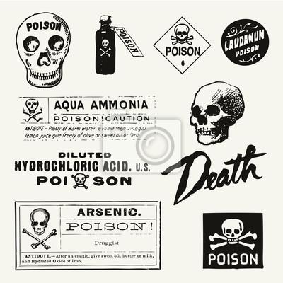 Gift Vintage Labels
