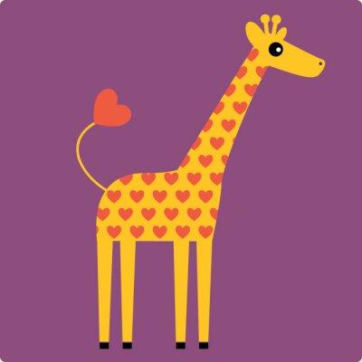 Bild Giraffe Vektor