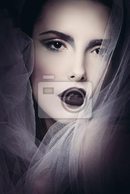 Glamouröse Schönheit Frau