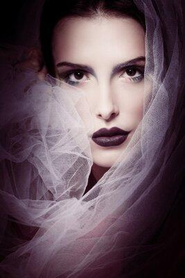 Glamourösen Schönheit Frau