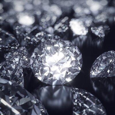 Bild Glänzend Diamanten Hintergrund