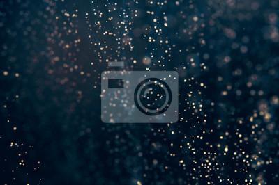 Bild Glitter Lichter abstrakten Hintergrund. Defokussiert bokeh dunkle Abbildung
