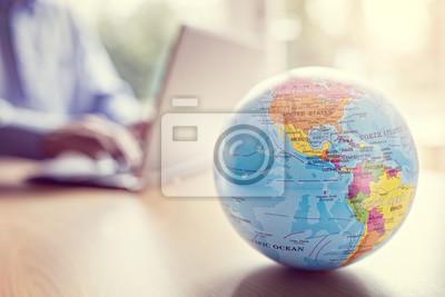 Bild Globales Geschäft und Kommunikation