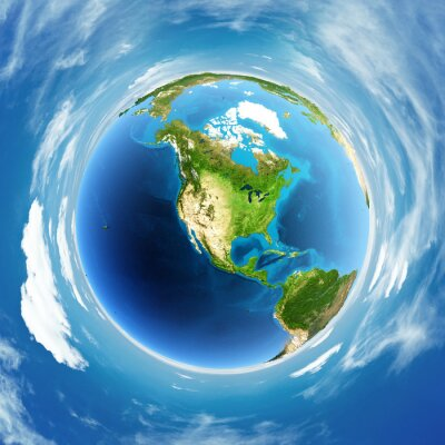 Bild Globe echte Erleichterung