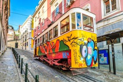 Bild Gloria Funicular, Lisbon, Portugal