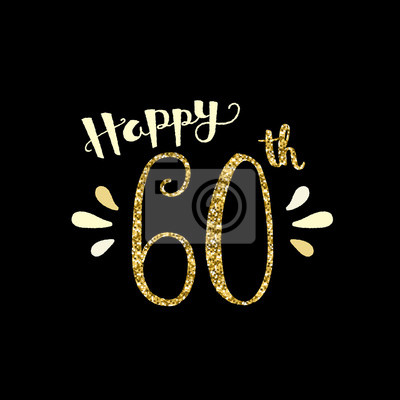 Karte 60 Geburtstag.Bild Glucklicher 60 Geburtstag Karte