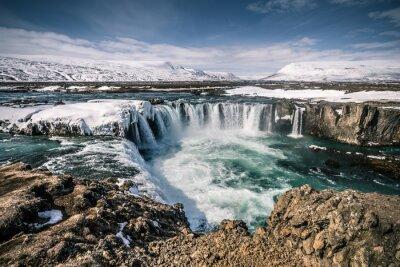 Bild Godafoss Wasserfall auf der Insel
