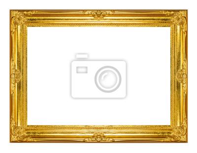Bild Gold-Bilderrahmen