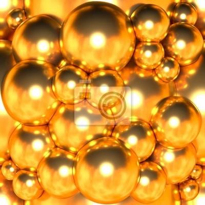 Gold-Blase Textur nahtlose