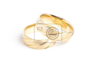 Gold Hochzeit Ringe Leinwandbilder Bilder Geatzten Vorschlag 2