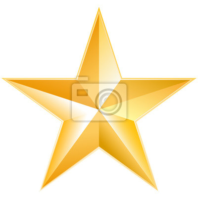 Bild Gold star