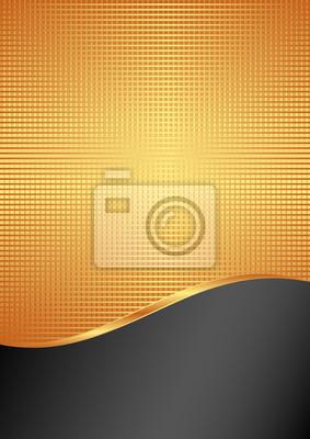 Bild Gold und schwarzen Hintergrund