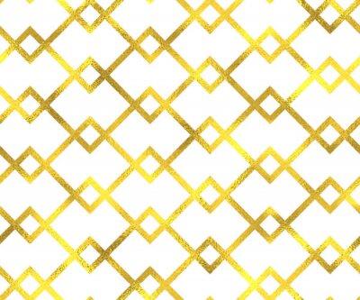 Bild Gold vintage Folie geometrischen nahtlose Muster Hintergrund