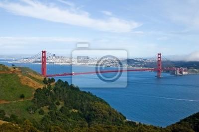 Bild Golden Gate Bridge und San Francisco