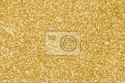 Bild Goldglitterbeschaffenheit oder goldener Scheinhintergrund