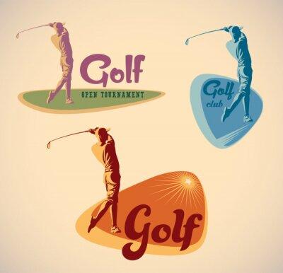 Bild Golf Etiketten