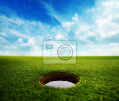 Golf-Loch
