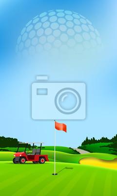 Golf-Loch-Banner