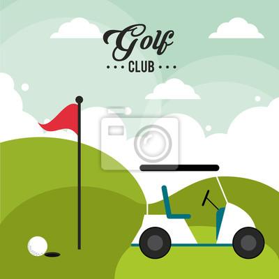 Golfschlägerentwurf