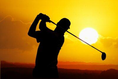 Bild Golfspieler