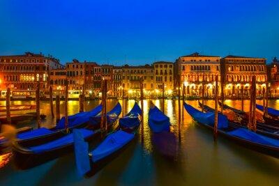 Bild Gondel auf großartigem Kanal, Venedig, Italien