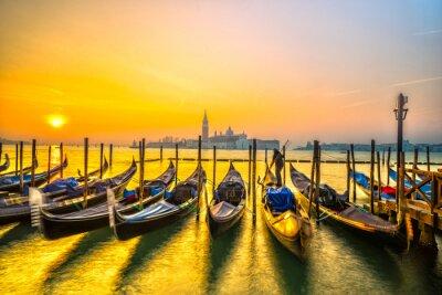 Bild Gondeln in Venedig, Italien