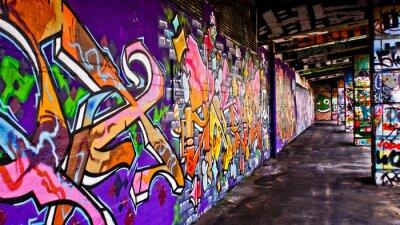 Bild Graffiti-Gang