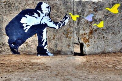 Bild Graffiti liberté