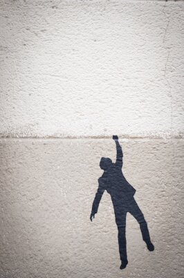 Bild Graffiti personnage