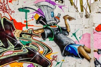 Bild Graffiti Street Art